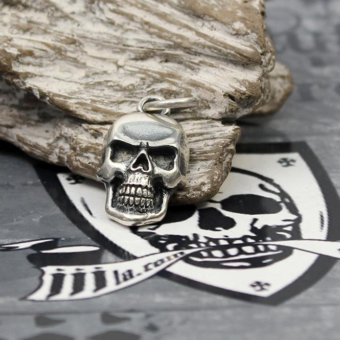 "JJJ LA ""Silver Skull small"" Anhänger aus 925er Silber"