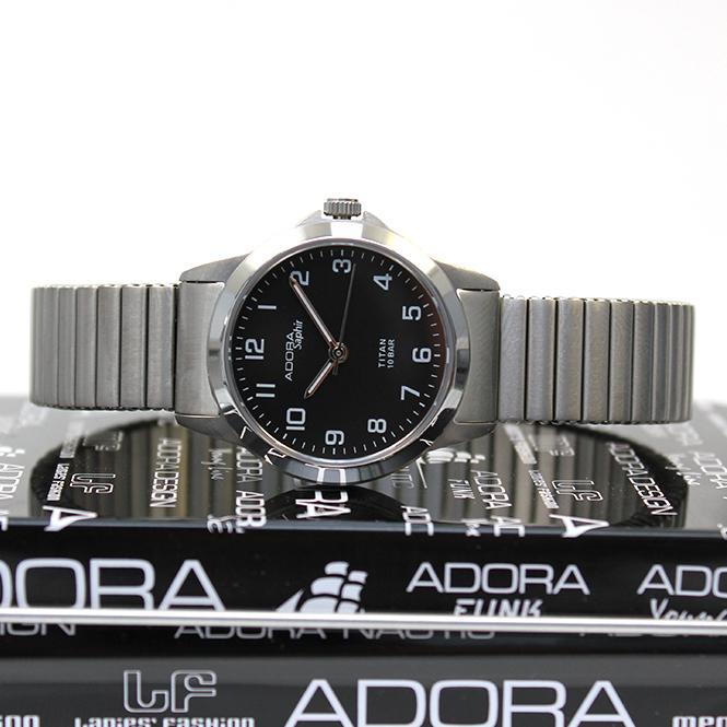 Adora Saphir Damen Armbanduhr Titan Flex AS4148