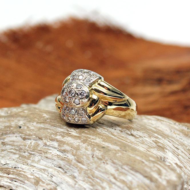 Brillant Ring 750er Gold