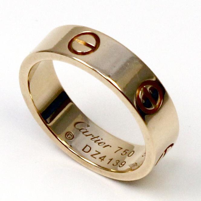 """Cartier Damen Ring """"LOVE"""" 750er Gelbgold GR 56"""
