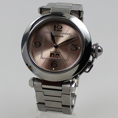 Cartier Pasha Automatik Stahl