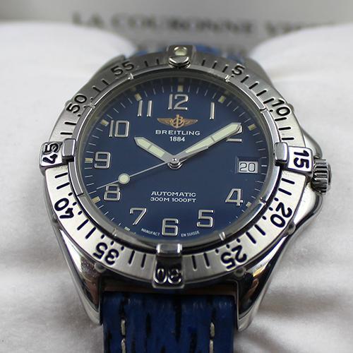 Breitling Cold Automatik blau/blau