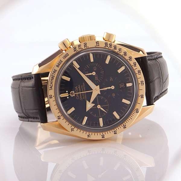 Omega Speedmaster Broad Arrow 18Kt Rosègold Automatik Chronometer Chronograph