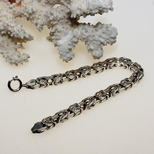 Königsketten Armband 925 Silber