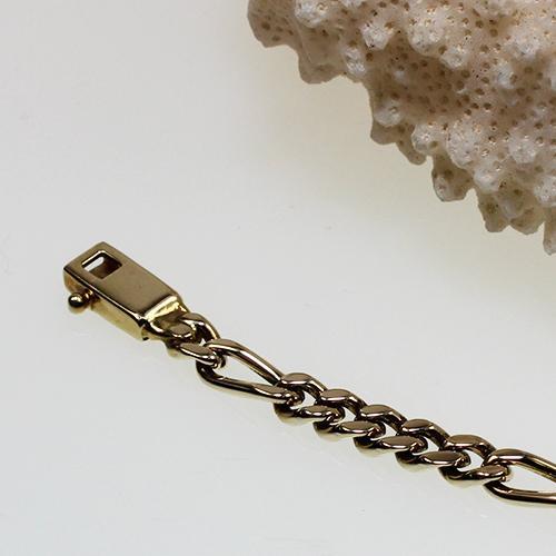 Figaro Armband Gelbgold 585