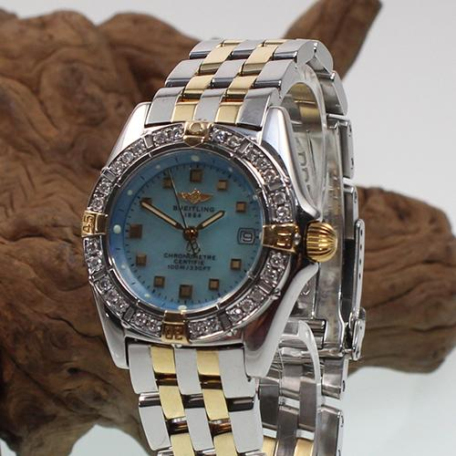 Breitling Callistino Mother of Pearl Dial,Origin Dia Bezel