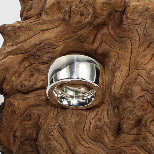 Silberring gefertigt von Schubart Düsseldorf