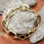 Street Armband Edelstahl vergoldet 65939ST19