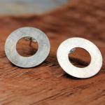 DUR Ohrringe O3855 925er Silber gebürstet