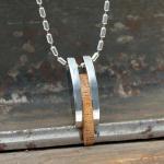 Street Edelstahl Halskette mit Anhänger P 1861