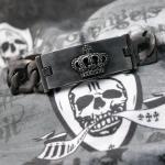 "JJJ La Panzer Armband ""CROWN""  in 925er Sterlingsilber"