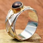 CARA Ring Silber vergoldet 101/2490 GR 55