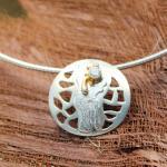 CARA Collier Silber vergoldet 104/2150