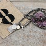 Edelstahl Collier / Halskette von Clochard CC003