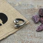 Edelstahl Ring von Clochard