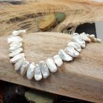 Perlenkette 45 SWZ Biwa