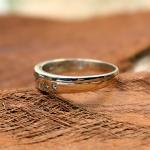 Brillant Ring 585er Gelb- Weißgold