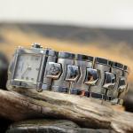 Philippe Charriol Damen Armbanduhr Columbus Stahl Ref. CCSTRM