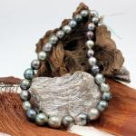Tahiti Perlenkette ungeknotet 11 - 13 mm