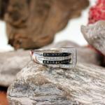 Brillant-Diamant-Ring mit beweglichem Element