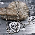 JJJ LA Kugelkette 925er Silber geschwärzt 70cm