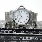 Adora Saphir Herren Armbanduhr AS4280 white