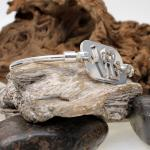 Gazpocho Handcrafted Silver 925er Bracelet/ LOVE
