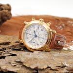 Maurice Lacroix Croneo Chronograph vergoldet
