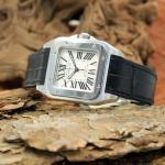 Cartier Santos 100 Automatik Medium Size
