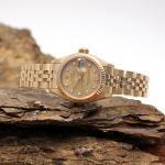 Rolex Lady Datejust  18Kt mit Diamant Zifferblatt