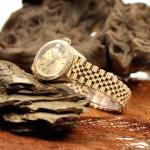 Rolex Date Just 18Kt mit Diamanten Ref. 69178