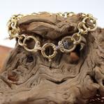 Sehr schönes Goldband in 750 er Gelbgold