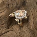 Schildkröt Ring 585 Gold
