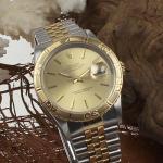 Rolex Date Just Turn-O-Graph Stahl/Gold