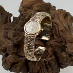Bulgari Spangenuhr mit Diamant Besatz