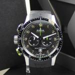 Edox Chrono Rally Stahl