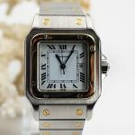 Cartier Santos Stahl/Gold