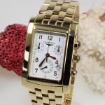 Longines Chronographe DolceVita 750/18ct Gelbgold