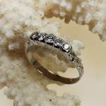 Brillant Ring 585 Weißgold