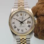 Rolex Date Just Stahl/Gold Ref.16013