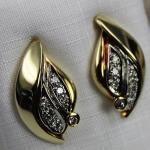 Diamant Ohrstecker 585 Gelbgold