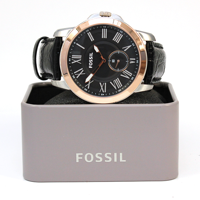 juweliere winter fossil herren armbanduhr grant fs 4943. Black Bedroom Furniture Sets. Home Design Ideas