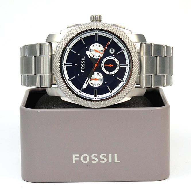 juweliere winter fossil herren armbanduhr edelstahl fs 4791. Black Bedroom Furniture Sets. Home Design Ideas